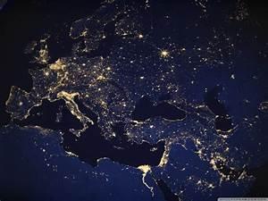 Planet Earth at night 4K HD Desktop Wallpaper for 4K Ultra ...