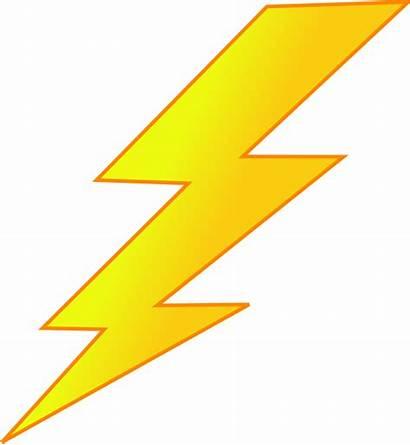 Lightning Bolt Clip Clipart Zeus Thunderbolt Spark