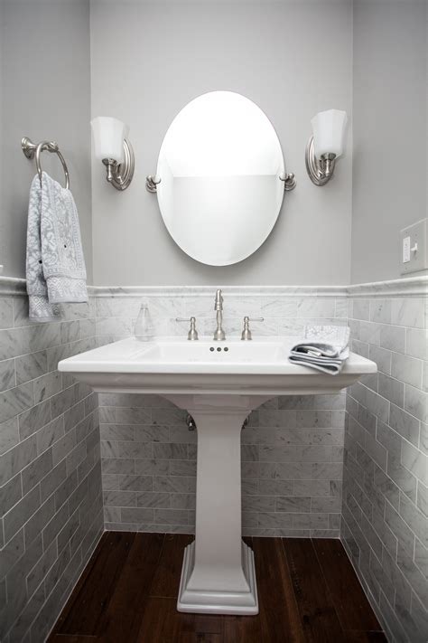 carrara marble bathroom designs powder room panache