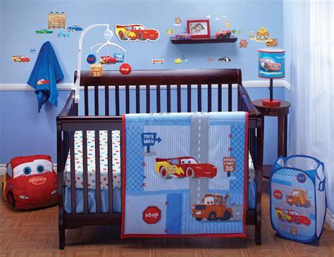 Disney Crib Bedding Set Cars Little Racer 4-piece