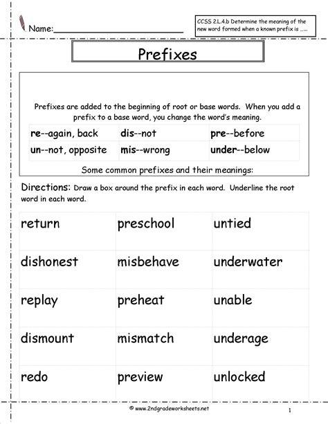 images  prefixes sentences worksheet prefix