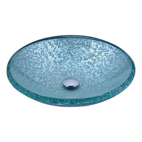 clear glass ls anzzi arc series vessel sink in clear glass ls az208 the