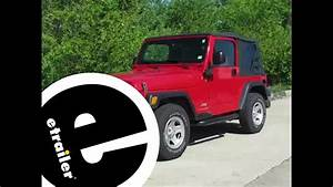 Install Trailer Wiring 2005 Jeep Wrangler 118409