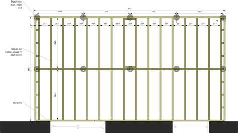 chambre sur pilotis plan terrasse bois suspendue 2 nivrem calcul terrasse
