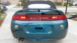 1997 Mitsubishi Eclipse Spyder Gs Convertible 2