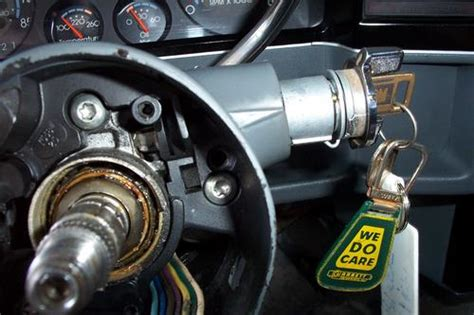 Have Blazer With The Key Broken Ignition