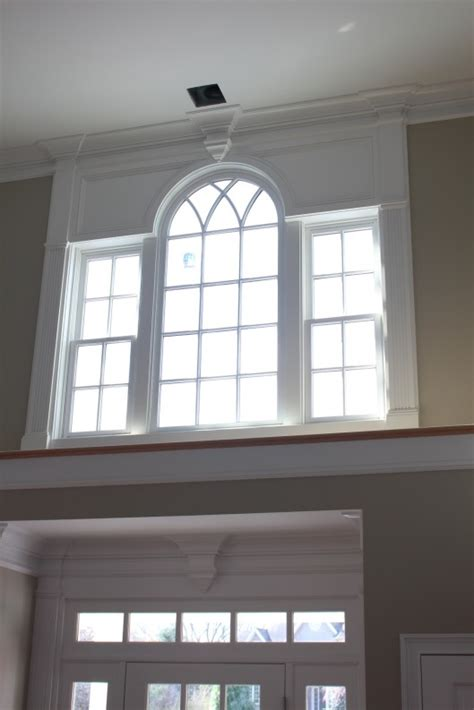 Wainscoting For Ceilings by Front Entrance Amp Upper Foyer Window Custom Home Finish