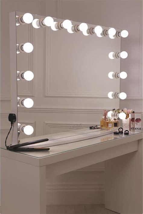 desk mirror with lights de 25 bedste idéer inden for toiletborde på pinterest