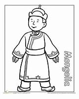 Coloring Pages Multicultural Mongolia Traditional Children Worksheet Clothing Around Mongolian Colouring Education Sheets Worksheets Different Globe Detailed Thinking Omalovanky Books sketch template