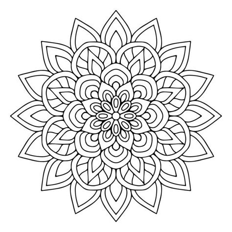 Kleurplaat Mandala Mexico by Mandala 004 Coloriage Mandala Coloring Pages Coloring