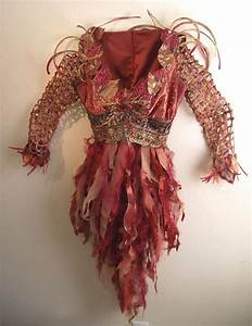 Close up Fire Fairy costume. | My Costume Creations ...
