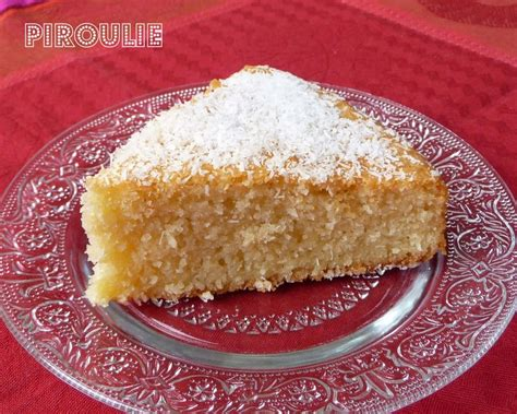 dessert a la noix de coco rapee