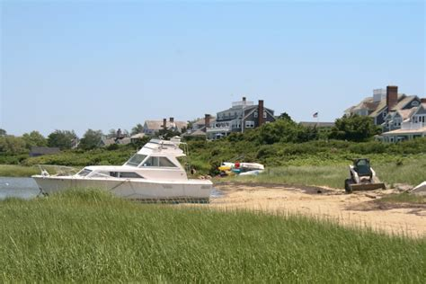 Tow Boat Nantucket by Nantucket Waterfront News Wreck Towed Off Beach