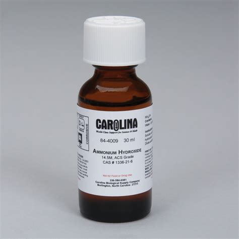 ammonium hydroxide ammonium hydroxide carolina com