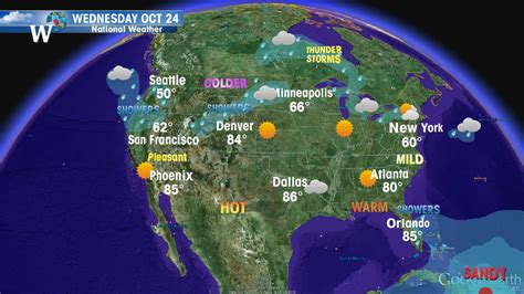 states united weather forecast wednesday outlook map october windows posted