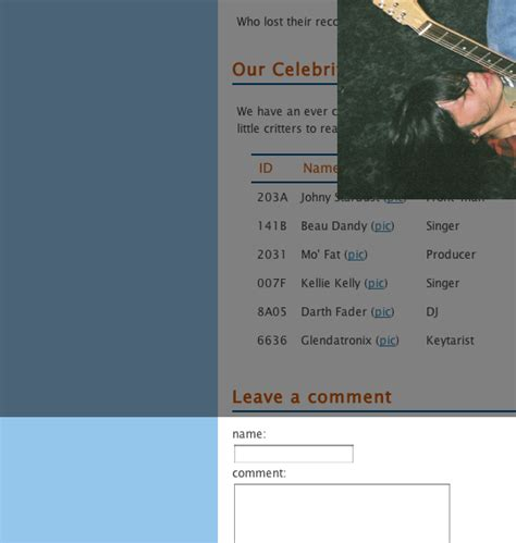 Lightbox Div by Jquery Lightbox Window Issue In Safari And Chrome