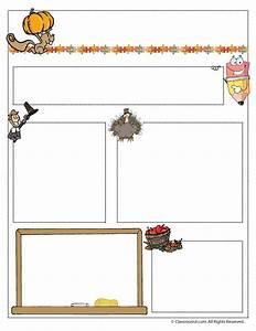 november teacher newsletter template woo jr kids With free november newsletter templates