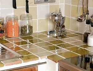 Comment Poser Du Carrelage : comment poser du carrelage dans une cuisine femme actuelle ~ Dailycaller-alerts.com Idées de Décoration
