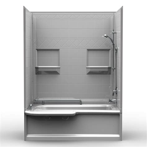 Tub Shower Combo One by Tub And Shower Combo Acrylic Units Enclosed One