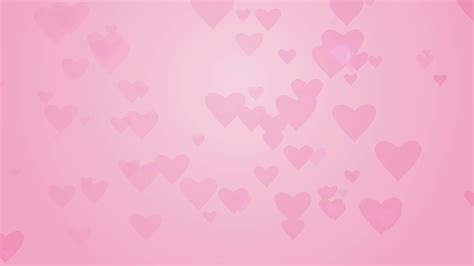 Pink Background Shapes On Light Pink Background Computer Generated