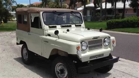 1967 nissan patrol parts volcan 4x4 1967 nissan patrol pearl youtube