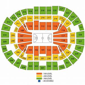 Moda Center Seating Chart Views And Reviews Portland Trail