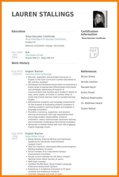Tutor Resume Sle by 6 Cv Penn Working Papers