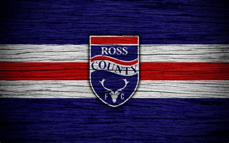 Download wallpapers 4k, Ross County FC, logo, Scottish ...