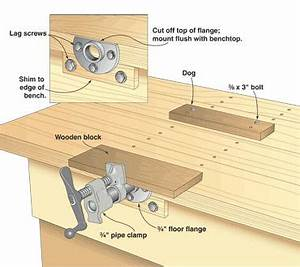 Workshop Clamp Designs & Gluing Tables on Pinterest