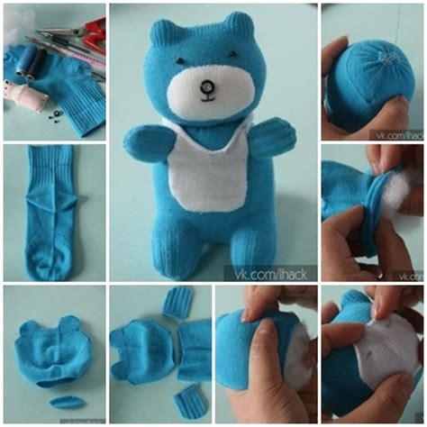 diy   cute sock teddy bear
