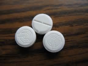 Xanax White Round Pill