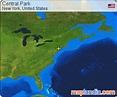 Central Park | New York Google Satellite Map