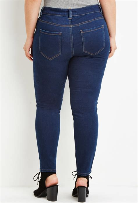 size classic skinny jeans  blue lyst
