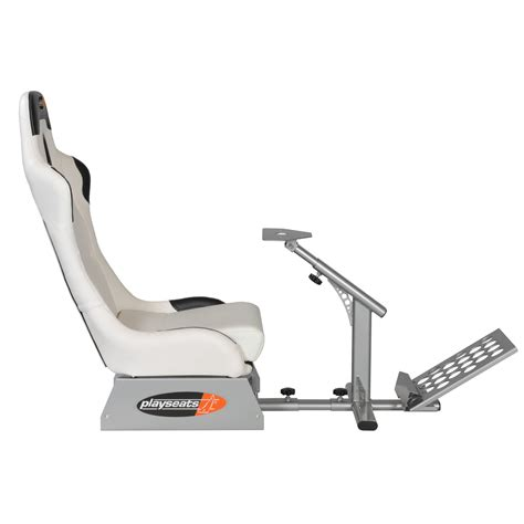 siege volant pc playseats evo siège simulation automobile blanc base
