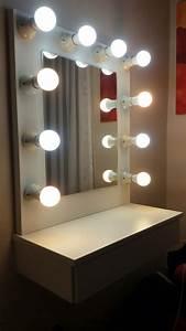 Espejo Hollywood  Maquillajepeluquer U00eda 60 X 40