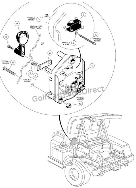 forward switch 36 volt golfcartpartsdirect