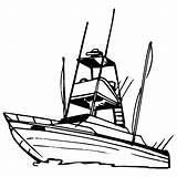 Boat Motor Coloring Getdrawings sketch template