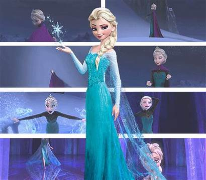 Frozen Elsa Let Animation Fanpop Animated Disney