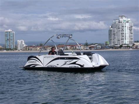 Razor Boats by Caravelle Razor E Pontoon Deck Boat Magazine