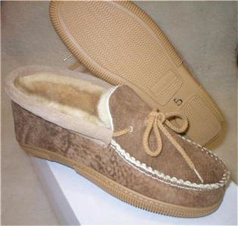 bick usa sheepskin hard sole slippers womens size  ebay