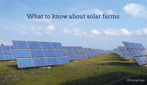 solar farms         cost