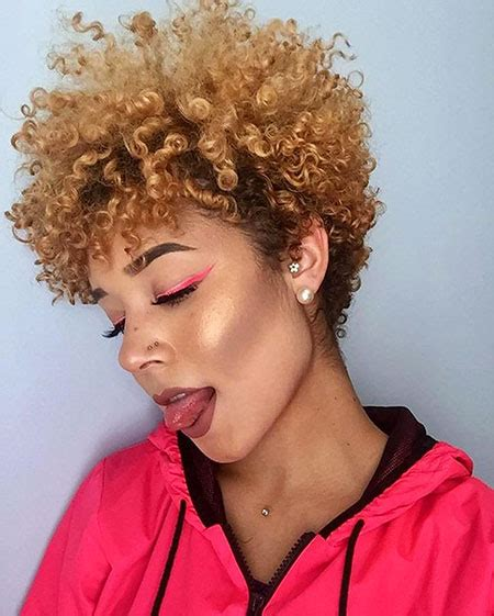 25 short blonde natural hairstyles 2017 2018 blonde