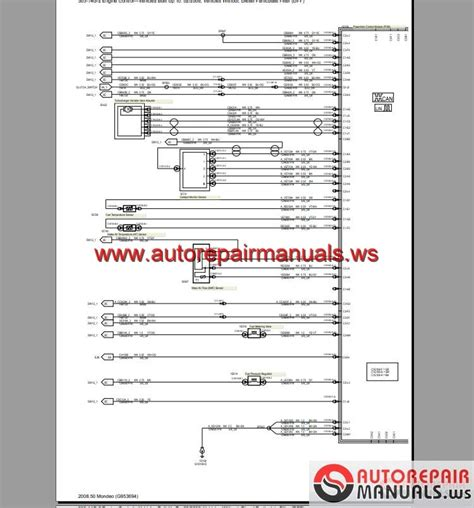 Ford Mondeo Wiring Diagram Pdf by Ford Mondeo 2008 2009 Eu Wiring System Diagram Auto