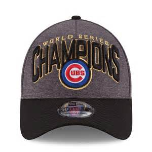Men's Chicago Cubs 39Thirty 2016 World Series Champions Locker Room Cap