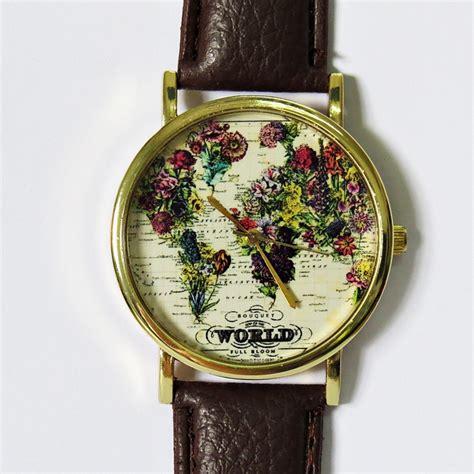 The World In Full Bloom Map Floral Watch, Vintage Style. Composite Diamond. Larimar Rings. Small Gold Bracelet. Silk Wrap Bracelet. Briolette Earrings. White Opal Earrings. Enameled Lockets. Anklet Symbolism