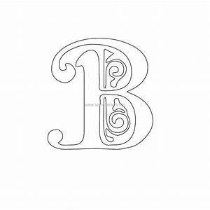 Floral Victorian Wall Letter Stencils Stencil Letters Org