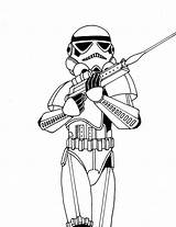 Drawing Stormtroopers Stormtrooper Getdrawings sketch template
