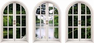 Wall Decal: Faux Window Wall Decal for Home Window