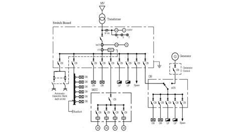 Single Line Diagram by Switchboard Single Line Diagram Factomart Industrial