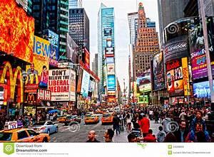 Horaires New York : times square new york city etats unis image stock ditorial image du publicit angle 24288839 ~ Medecine-chirurgie-esthetiques.com Avis de Voitures